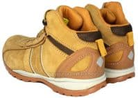 ET safety C8137 Tan Honey Low back lace up Leather Steel Toecap SB Boots